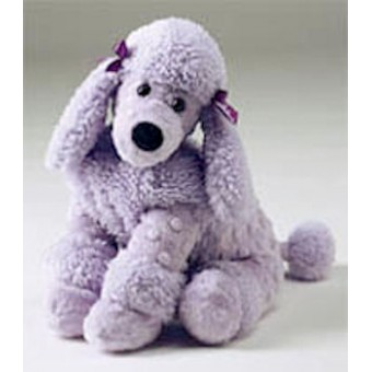 Lavender Poodle, my favorite stuffed animal